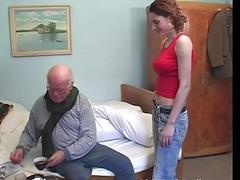 Hot caregiver Sarah Star seduced...
