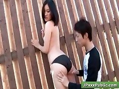 Outdoor JP Lustful Japanses gets...