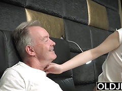 Her Young Pussy Gets Fucked By...