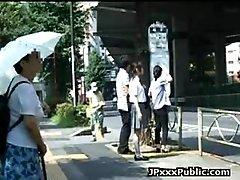 Japanese Teen Fucked Outdoor -...