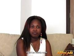 Tiny Black Teen with Big Tits on...