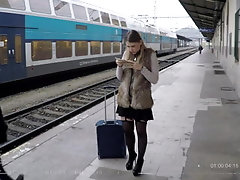 Travelling Russian teen...