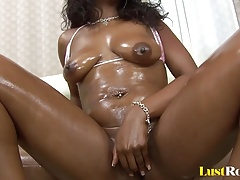 Fucking a beautiful ebony babe...