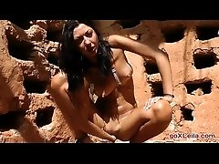 Outdoor Fisting Girl_ outdoor,...