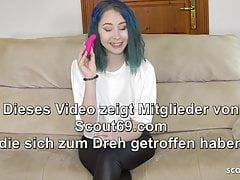 xhamster German 18 Blue Haired Teen Has...