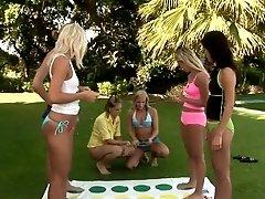 xhamster Hot girls rub clitorises