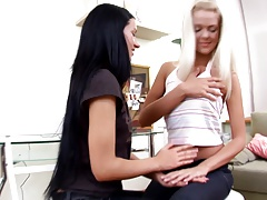 Sapphicerotica teens enjoy first...