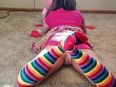 Stuck teen sister fucked...