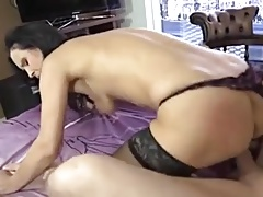Mommy teases and fucks her Young...