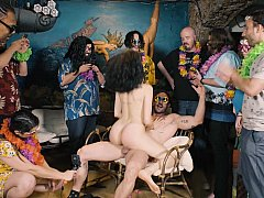 xhamster Cheerful BDSM orgy party