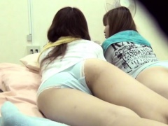 xhamster Asian teens wet the bed