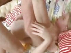 Tall Russian Pigtail Teen Getting