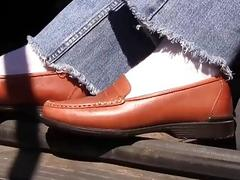 Penny brown penny loafers Full...