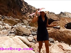 Heather Deep publicly fucked and...