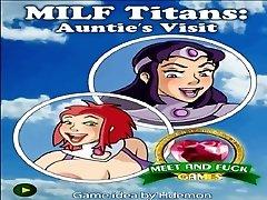 Milf Titans  Auntie&#039_s...