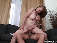 xhamster Guy fucking his old mother-in-law
