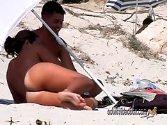 Nudist Beach Teen Girls Voyeur...