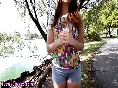 Amateur teen face spermed
