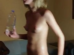 Shared GF anal and creampie