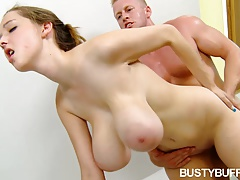 xhamster Busty Buffy fucked hard in the...