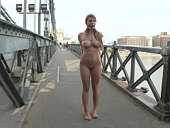 Big natural titted Euro girl...