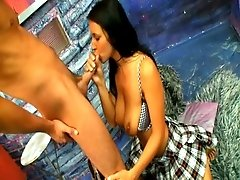 Juicy dilettante lady drilled deep
