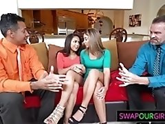 Stepdaughters get fucked for...