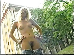 Young amateur outdoor