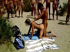 xhamster Nudist Sex on the Beach Big...