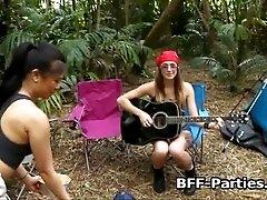 xhamster Teens sharing dick at camping