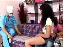 xhamster Physician assists with hymen...