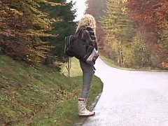 xhamster Young hitchhiker gets fucked in...