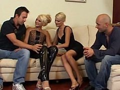 Two hot blonde Europeans and two...