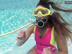 xhamster Cute teen Irina Poplavok swims...