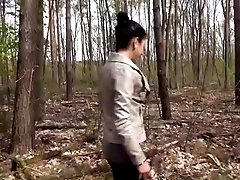 German Amateur Teen fuck outdoor...