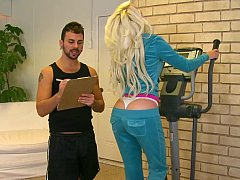 A personal trainer for their...