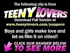 xhamster Teeny Lovers Hot teen enjoys...