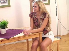 xhamster Well shaped cute European teen...