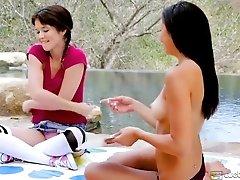 Tiffany Fox and Ariana Marie at...