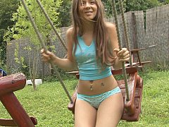 xhamster Sweety on a swing