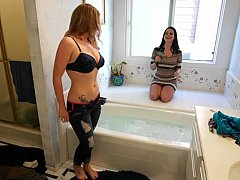 Redhead amateur teen does it for...