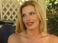Blonde step-mom adopts...