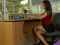 xhamster Home working Mom