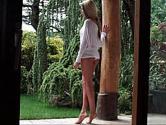 Aliyah's alluring outdoors...