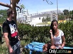 Hot Latina fucks her man before...