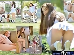 Cute Girl (Kelly) Strip And Play...