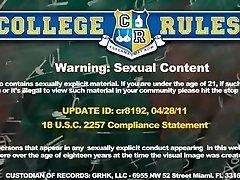 Lascivious college coeds show...