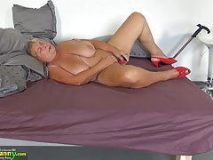 xhamster OldNanny Two fat grannies and...