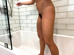Curly Blonde Teen Records Solo...