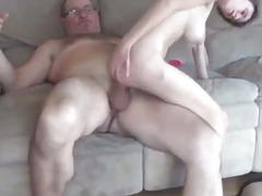 Old Man With Huge COCK Abused...